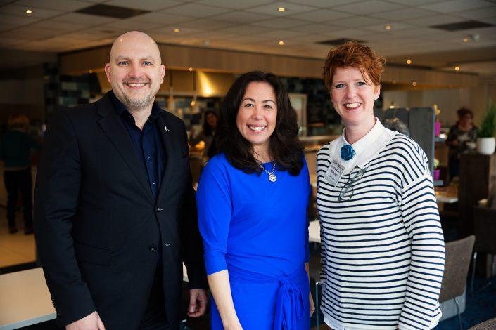 Roel Graven, Dewi Natrop en Josine van de Nobelen Novotel Maastricht Bar Zakelijke fotografie