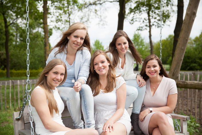 groepsfoto's dames