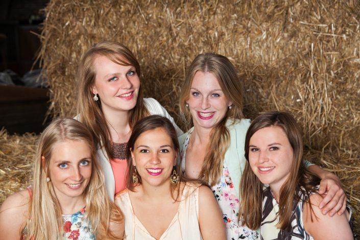 groepsfoto dames