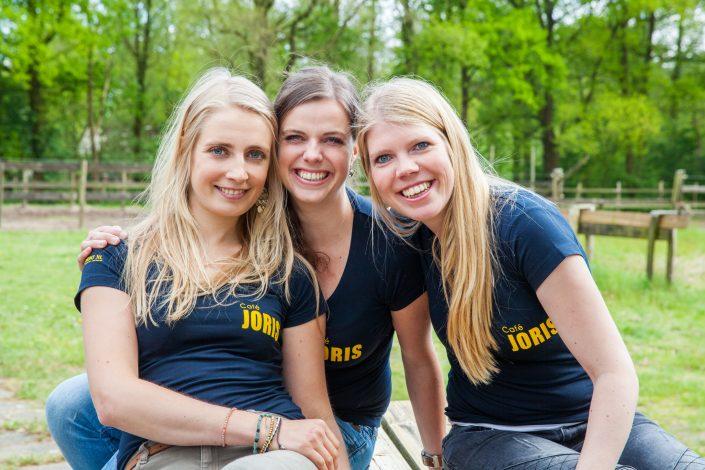 Groepsfoto meiden