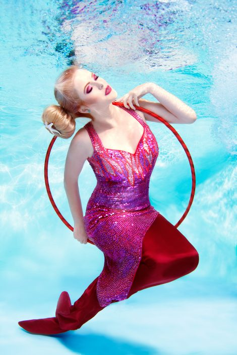 Underwater photography mermaid Anne Jannes