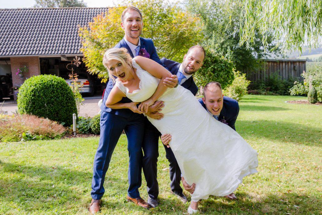 Bruiloft Nadine en Tom