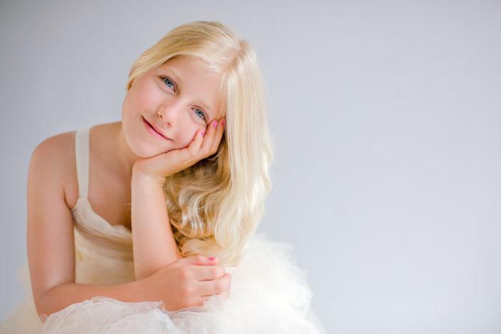 Portret van Amy mijn zusje