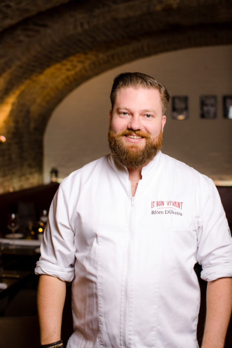 Bjorn Dijkstra Chef Le Bon Vivant