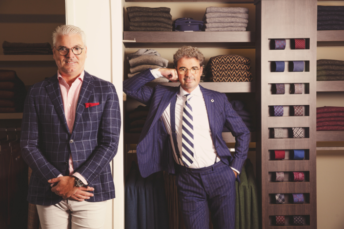 Modemannen Maastricht, pakken op maat